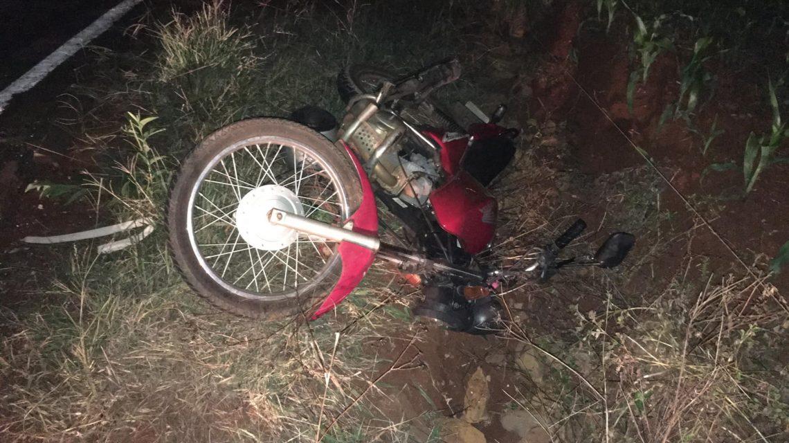 Ampére: Passageira de moto morre após se envolver em acidente