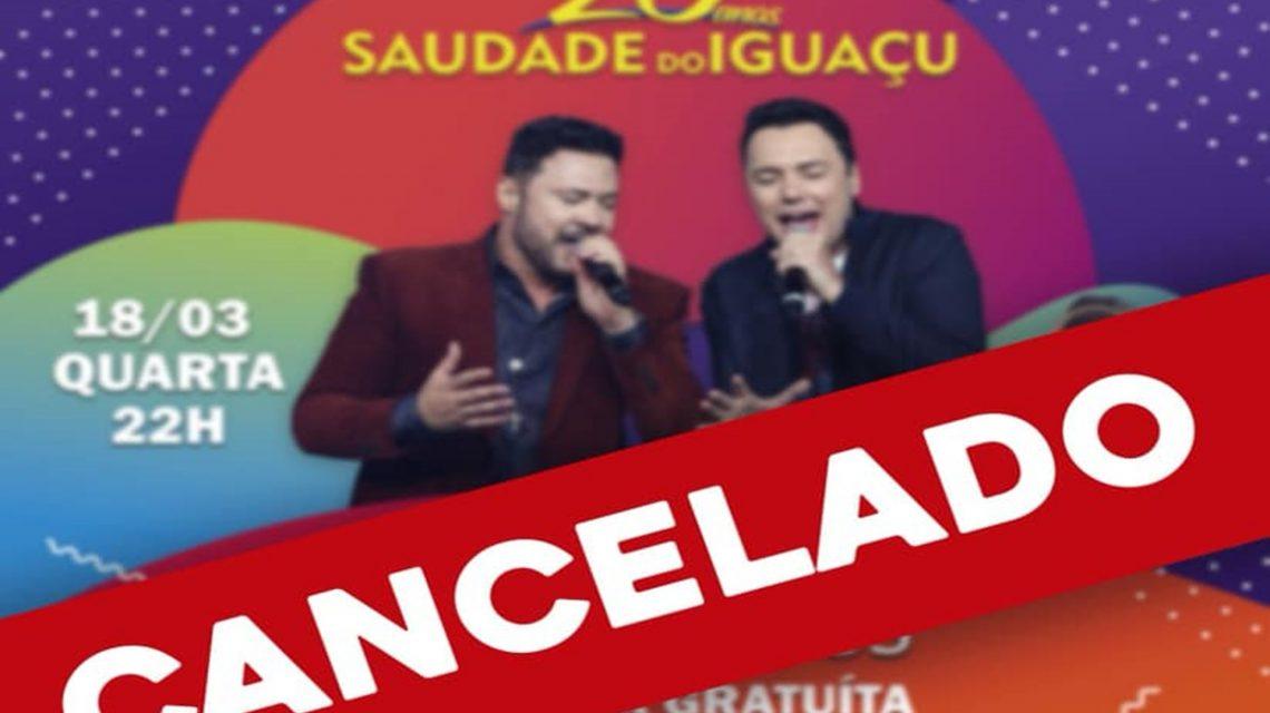 Administração municipal cancela festa de aniversário do município de Saudade do Iguaçu