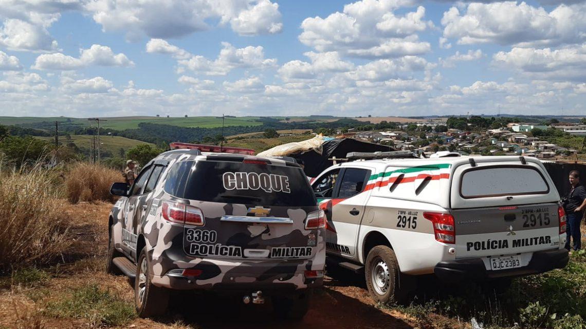 Polícia Militar faz levantamento para reintegração de posse em Abelardo Luz