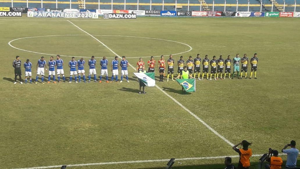 União perde para o FC Cascavel e está rebaixado para série B