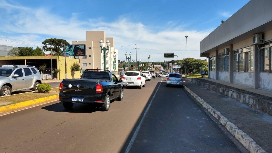 Palmas: Comerciantes realizam carreata pela reabertura do comércio
