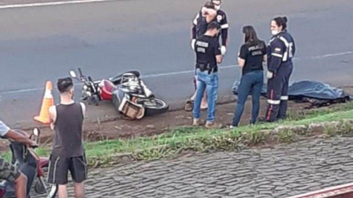 Motociclista morre em acidente na BR-282, em Ponte Serrada