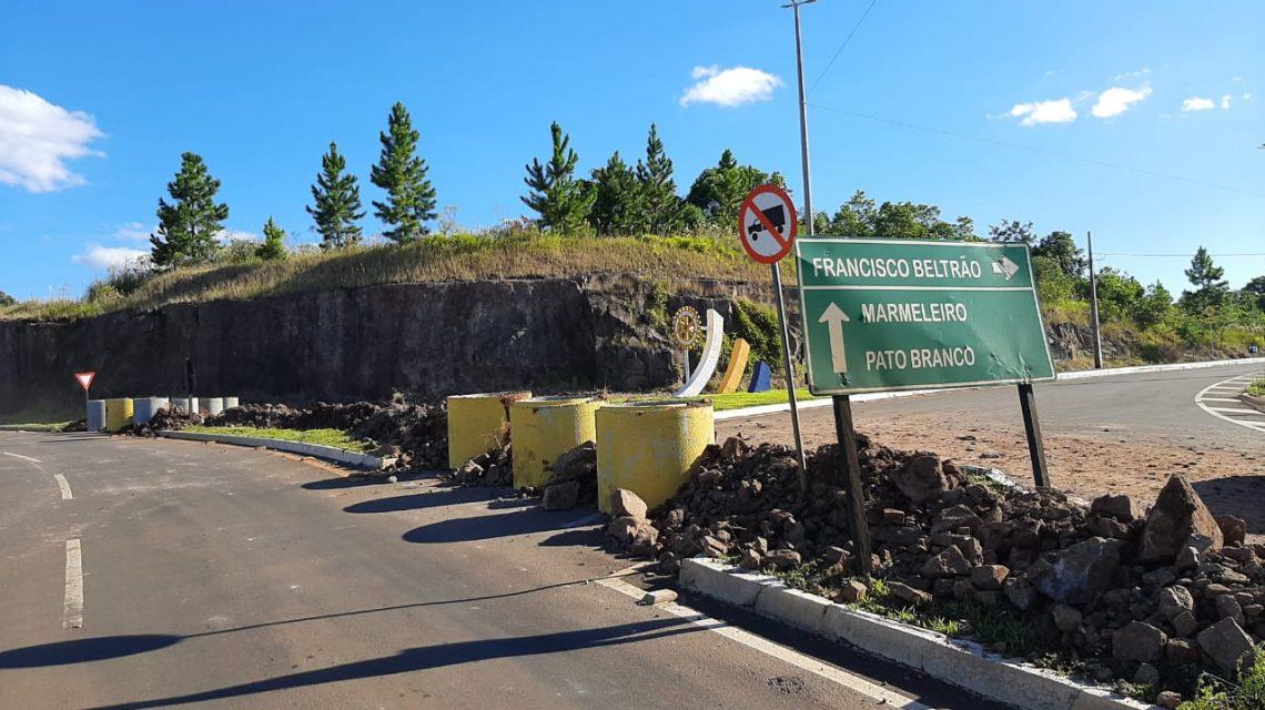 Acesso a cidade de Francisco Beltrão será controlado e entradas são fechadas