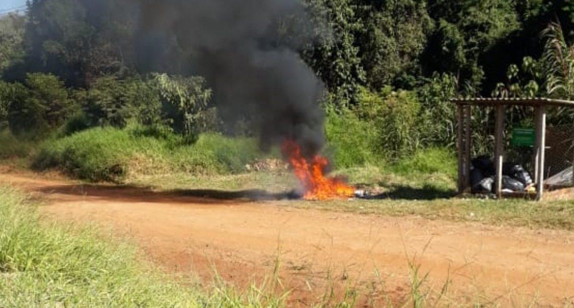 Muita fumaça: aumenta o número de queimadas irregulares em Francisco Beltrão