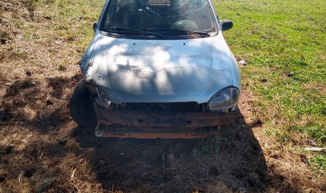 Policiais recuperam carro furtado e apreendem motorista
