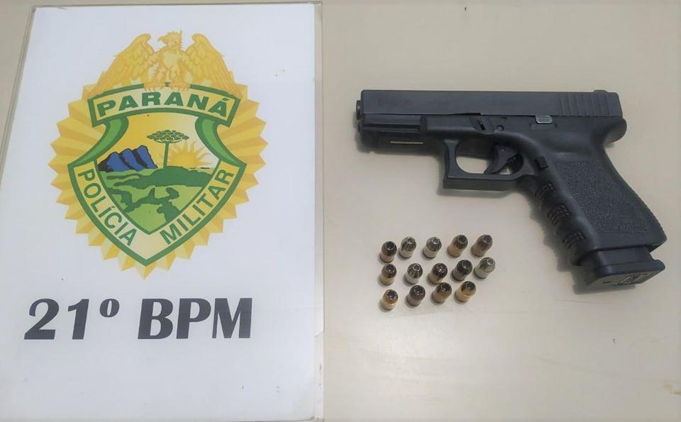 Homem é preso por porte ilegal de arma de fogo em Francisco Beltrão