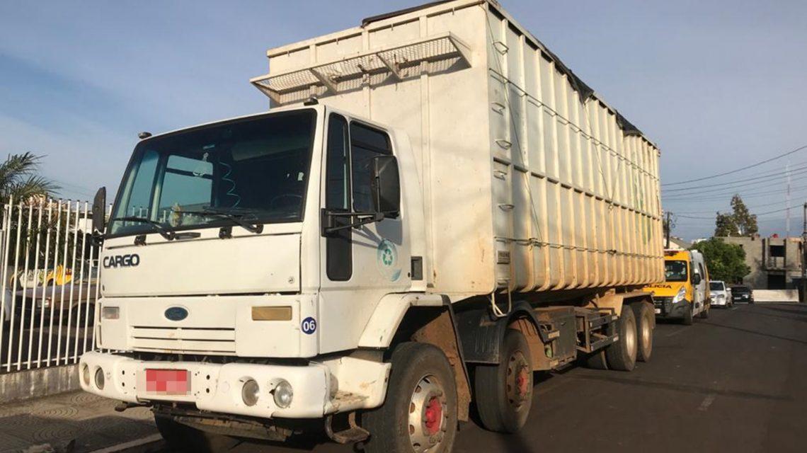 Coronel Vivida: Polícia Militar recupera caminhão furtado em Guarapuava