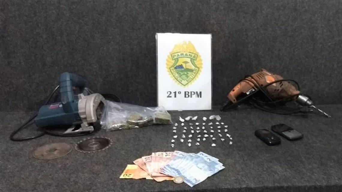 Homens são presos por tráfico de drogas em Francisco Beltrão