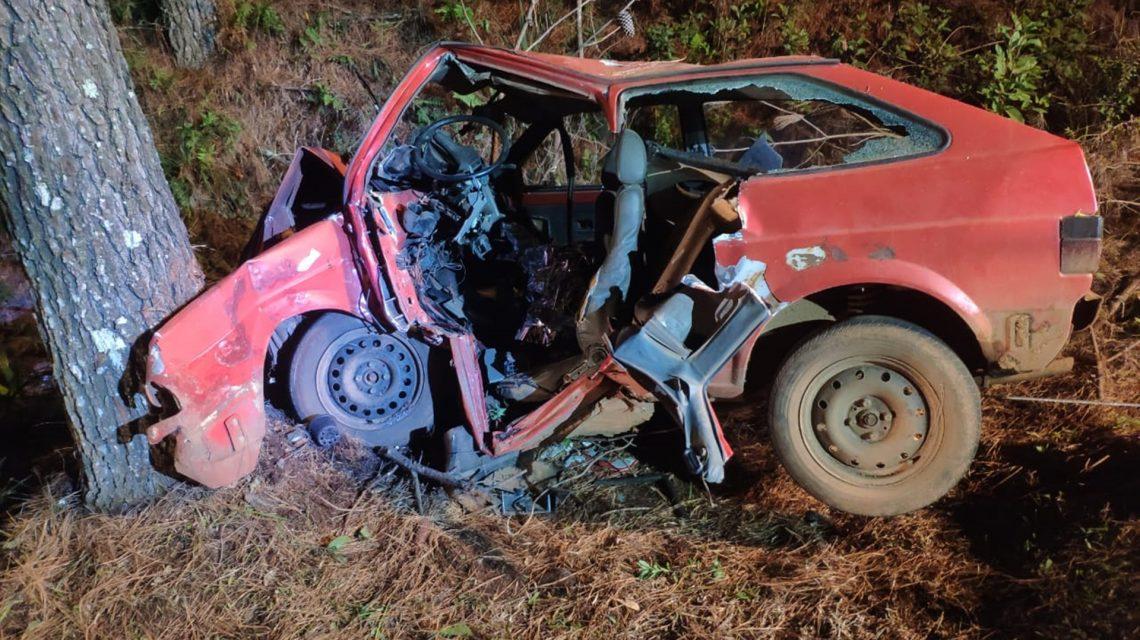 Homem de 64 anos morre em acidente na PR-884, em Renascença