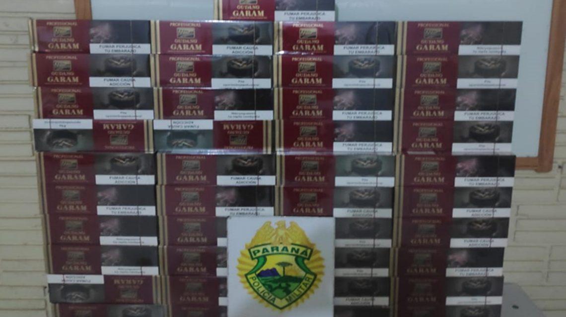 Vovó de 80 anos é flagrada pelo BPFron transportando cigarro contrabandeado