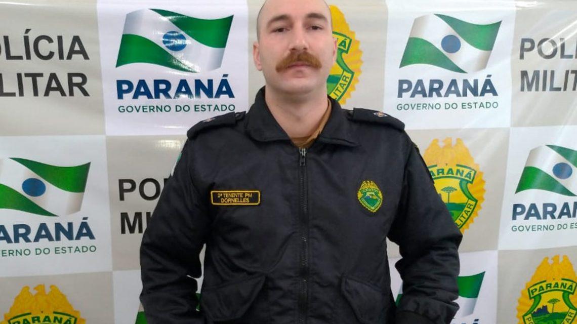 Tenente Igor Dornelles assume comando da Polícia Militar em Chopinzinho e São João