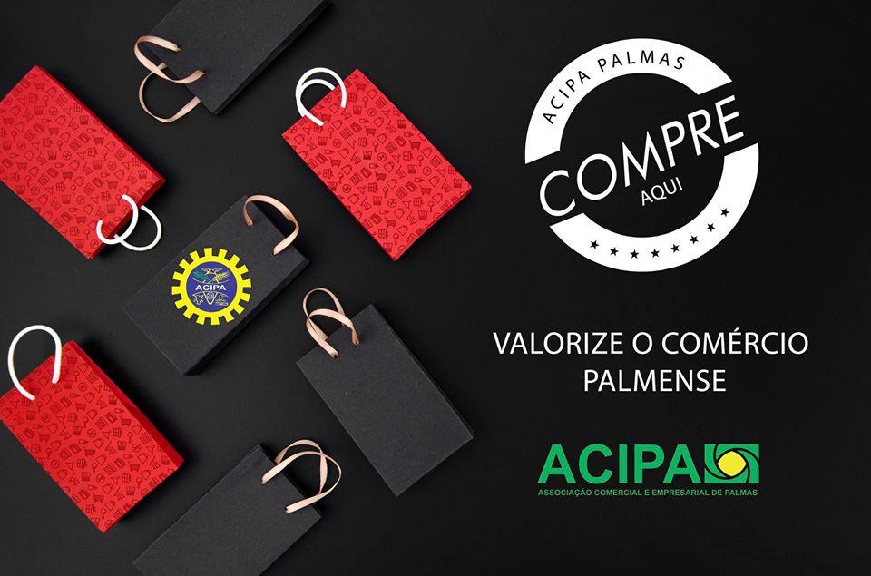 Acipa desenvolve campanha para valorização do comércio palmense