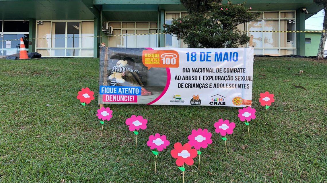 Marmeleiro desenvolve ação para lembrar 18 de maio