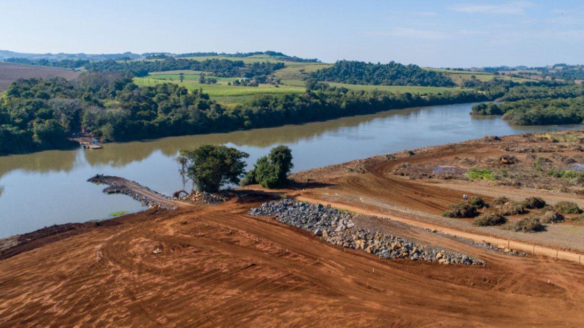 Copel inicia obras de construção da ponte da PCH Bela Vista ligando Verê e São João