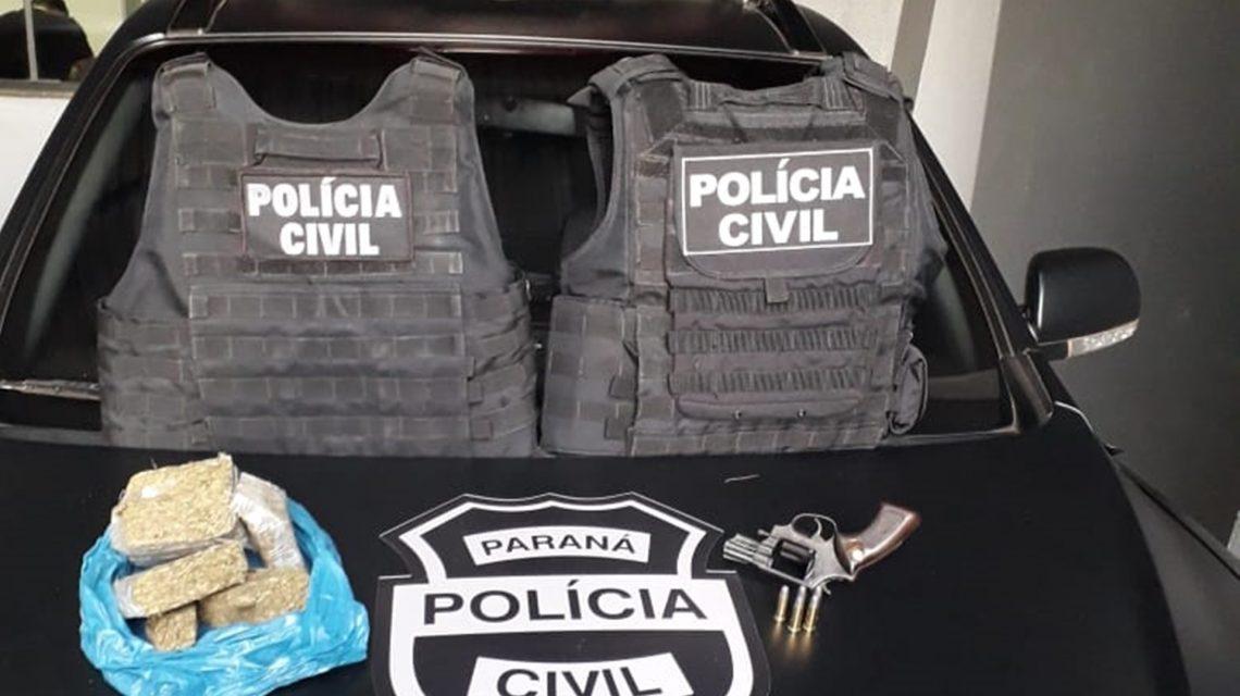 Suspeito de tráfico de drogas é preso em Rio Bonito do Iguaçu
