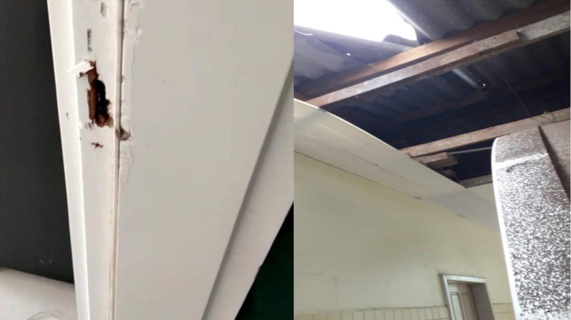 Escolas são alvos de arrombamentos e atos de vandalismo em Palmas