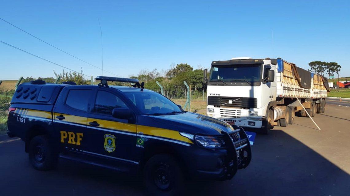 Santa Catarina: PRF encontra duas toneladas de maconha em Bitrem com placas de Dois Vizinhos
