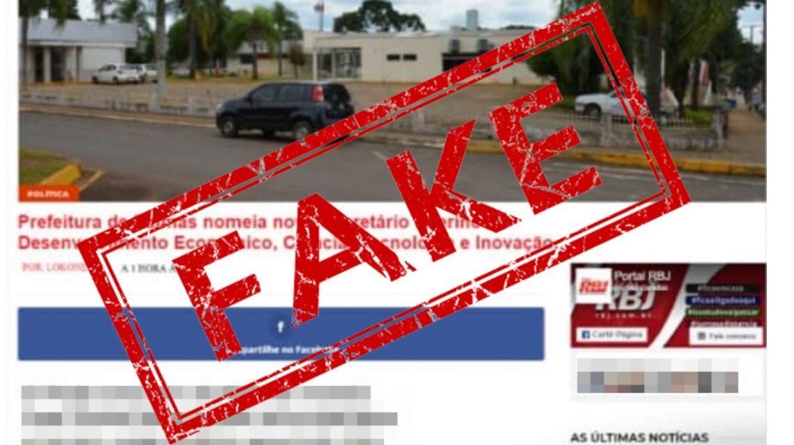 Grupo RBJ esclarece sobre uso de sua marca para montagem de Fake News