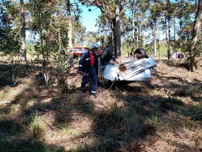 Homem de 54 anos morre em acidente entre Bituruna e General Carneiro