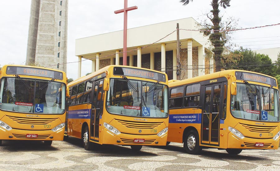 Projeto prevê a retirada dos cobradores das lotações em Francisco Beltrão