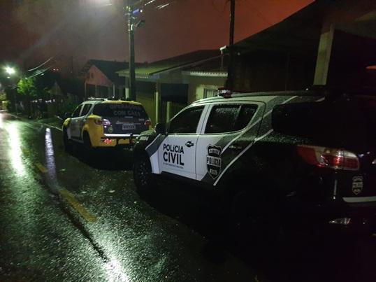 Polícia fez operação contra o tráfico em Francisco Beltrão