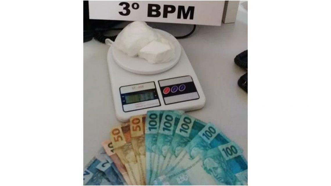 Polícia Militar detém trio com cocaína em Coronel Vivida