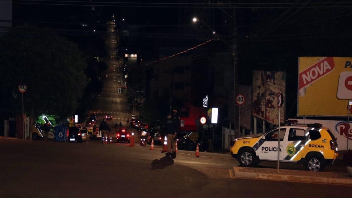 Condutores são detidos por embriaguez ao volante em Pato Branco
