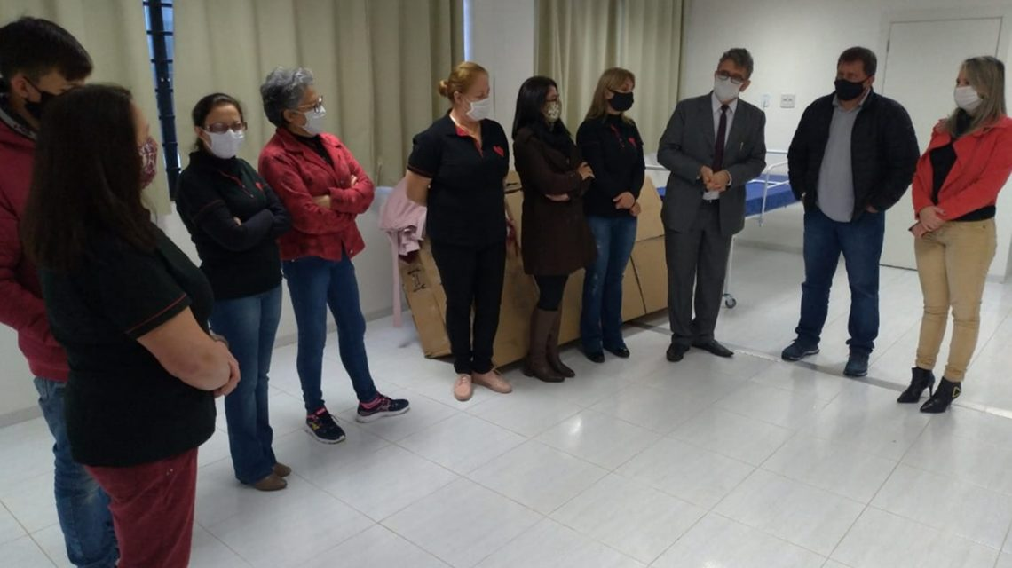 Onc Vida faz doação de camas hospitalares ao Instituto San Rafael de Chopinzinho