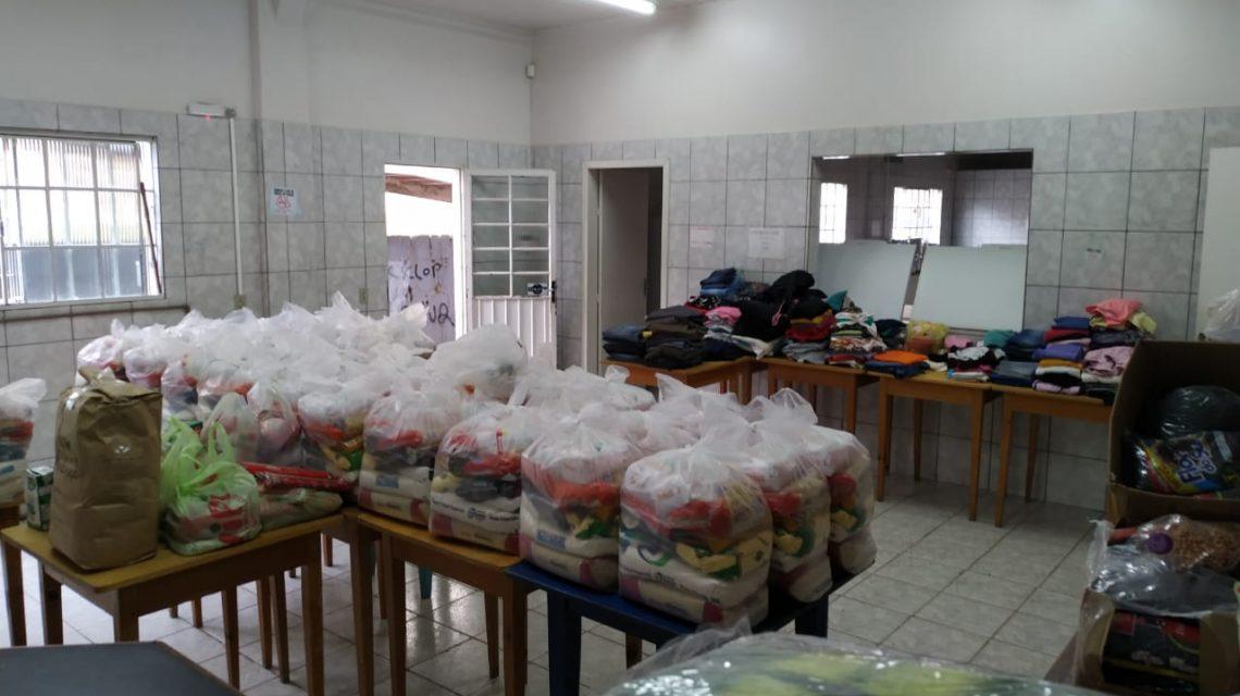Em Francisco Beltrão, Live Solidária arrecadou 800 kg de alimentos