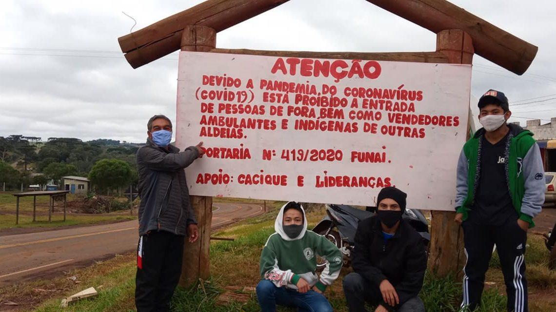 Ambulantes e parentes de índios estão proíbidos de entrar em Aldeias da região