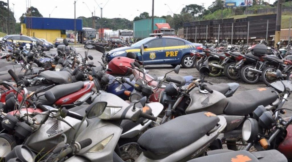 Leilão da PRF tem carros em condição de uso com lances a partir de R$ 400