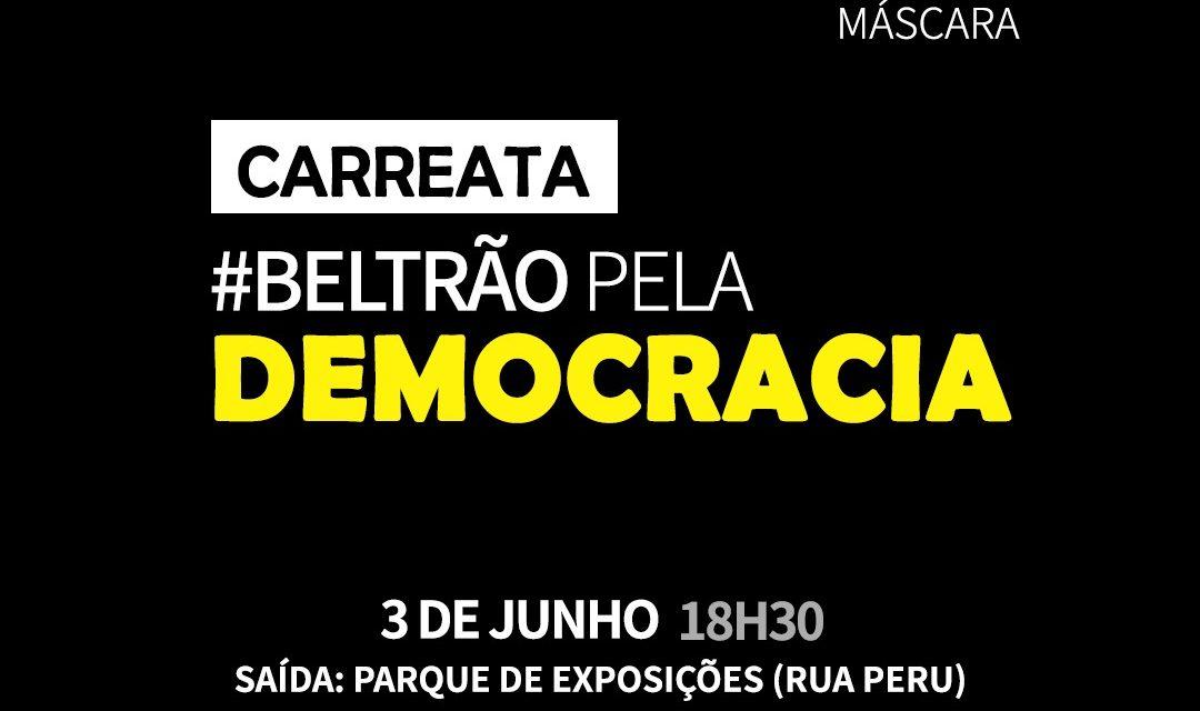 Grupo fará carreata pela democracia em Francisco Beltrão