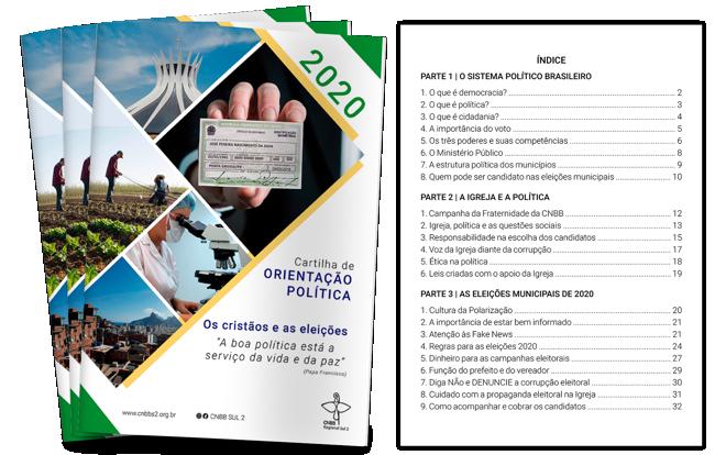 CNBB publica Cartilha de Orientação Política