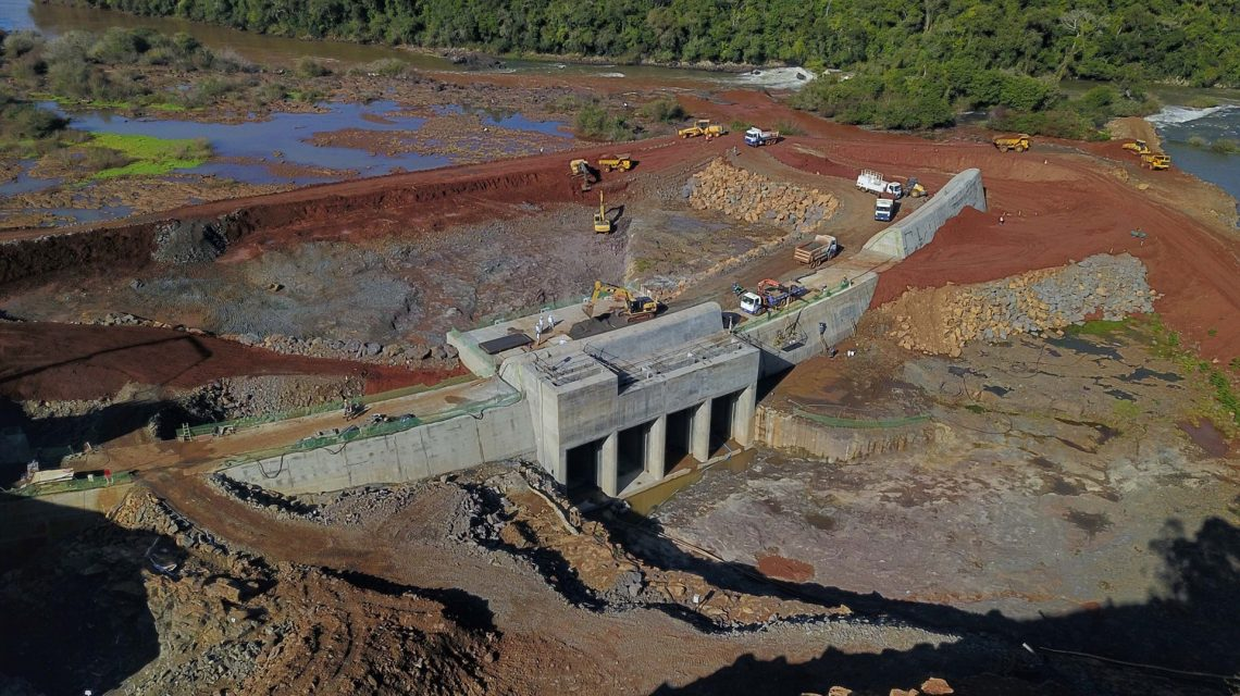 PCH Bela Vista já tem metade das obras concluídas, segundo Copel