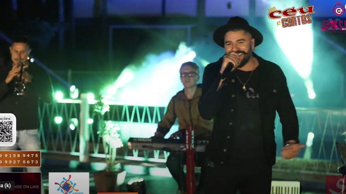 Live da Extra FM com Banda Céu e Cantos em pról do Lar do Idoso de Chopinzinho supera expectativas
