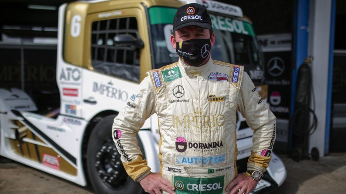 Piloto beltronense está classificado para a grande final da Copa Truck