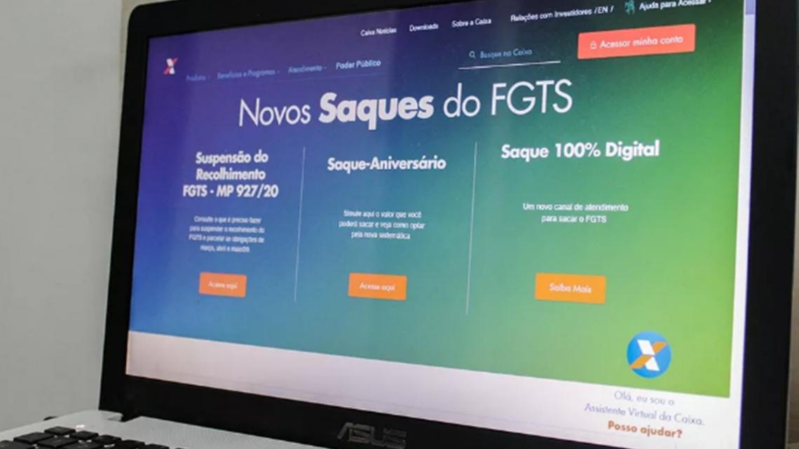 Caixa anuncia calendário para saque emergencial do FGTS