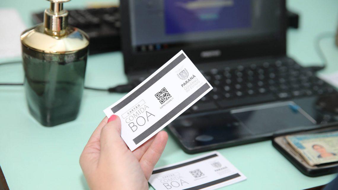 Governo do Estado faz novo carregamento de valores no Cartão Comida Boa
