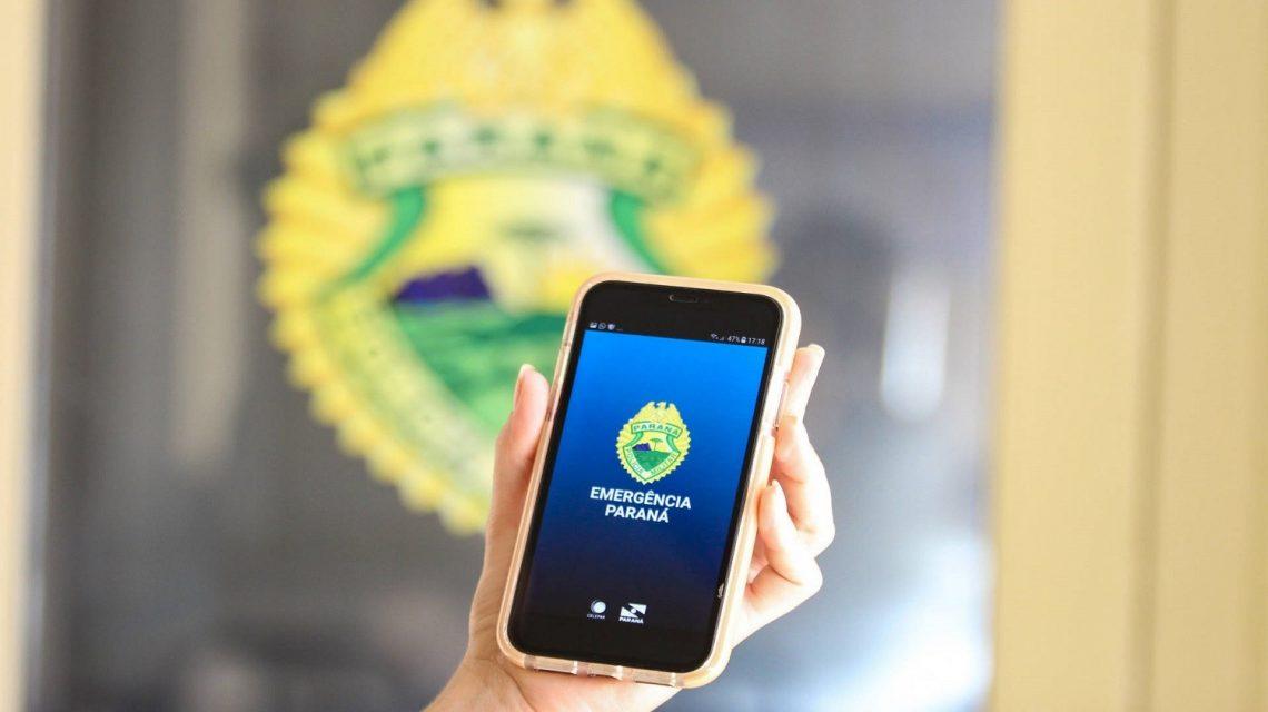 """App da Polícia Militar do Paraná conta com opção """"covid-19"""""""