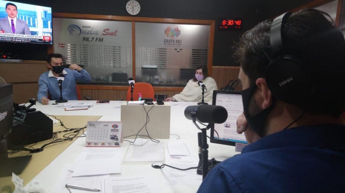 Podcast RBJ: Profissionais da Unisep debatem o suicídio na Onda Sul FM