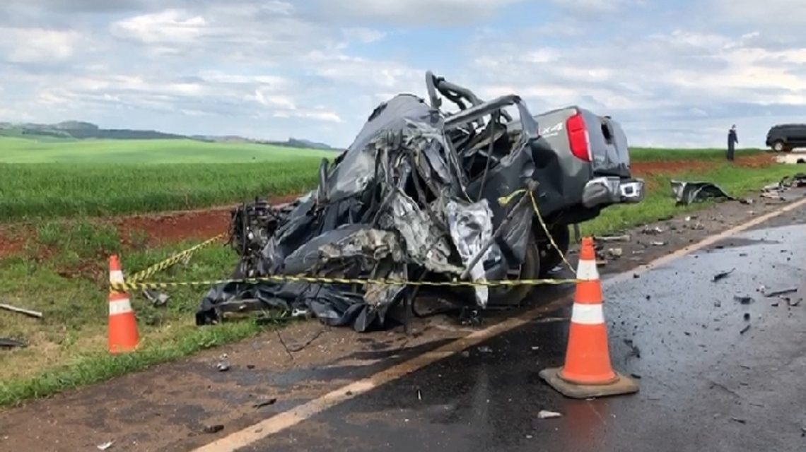 Filho mata o pai em Bom Jesus do Sul, foge e perde a vida em acidente na BR-163