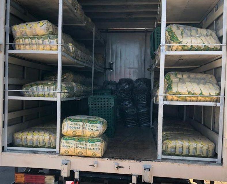 Alimentos do Compra Direta beneficiam 700 famílias do município