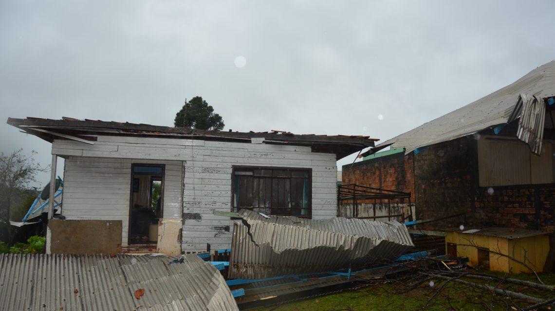 Defesa Civil do Estado confirma ciclone extratropical na região de Palmas