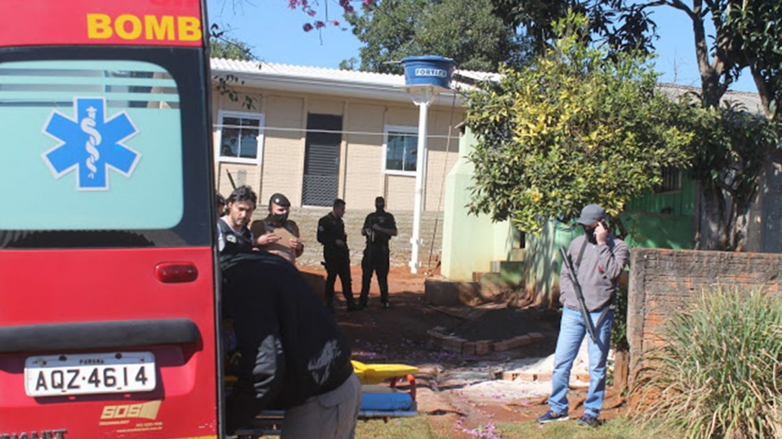 Foragido morre em confronto com a polícia de Laranjeiras do Sul