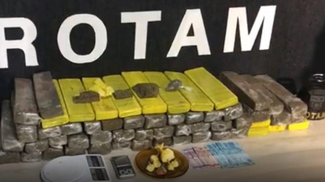 Polícia Militar apreende drogas e prende três pessoas em Pato Branco