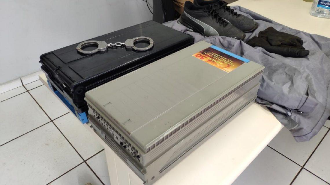 Homem é preso após arrombar caixa eletrônico em Francisco Beltrão