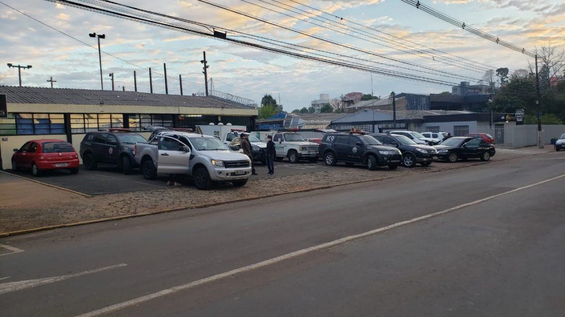 OPERAÇÃO PASPI: PC e PM fazem mega operação em Francisco Beltrão