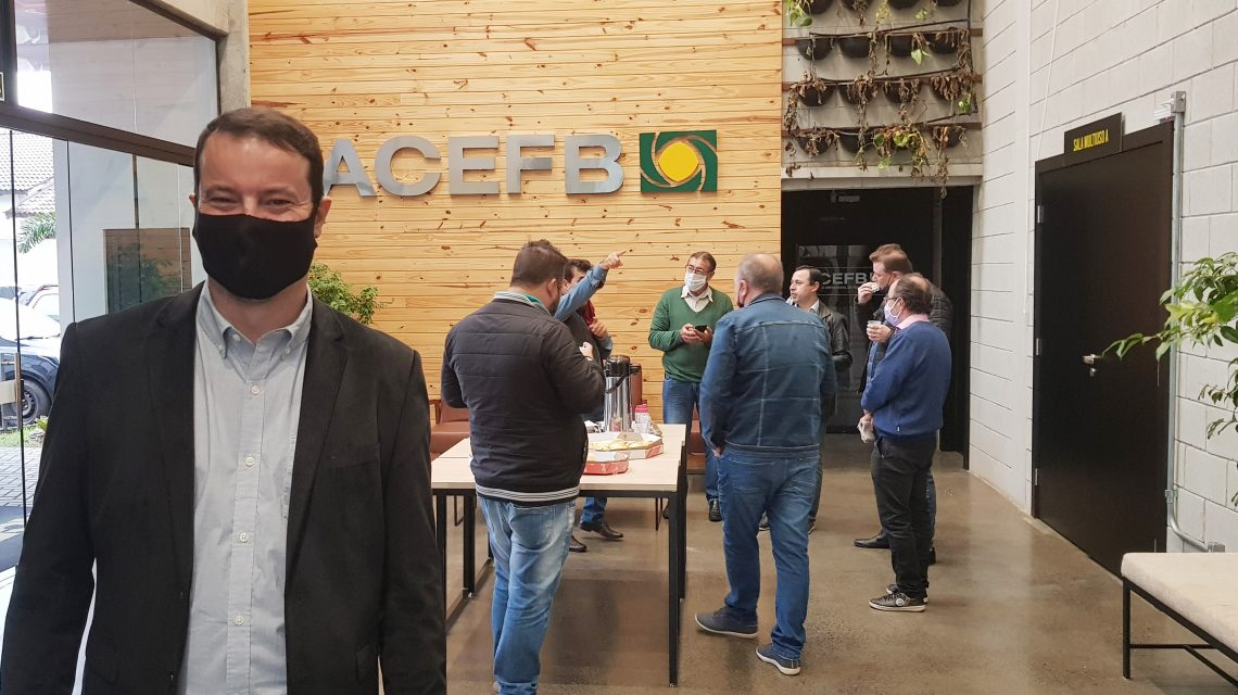 """Centro de Inovação funcionará como """"hub de negócios"""" em Francisco Beltrão"""