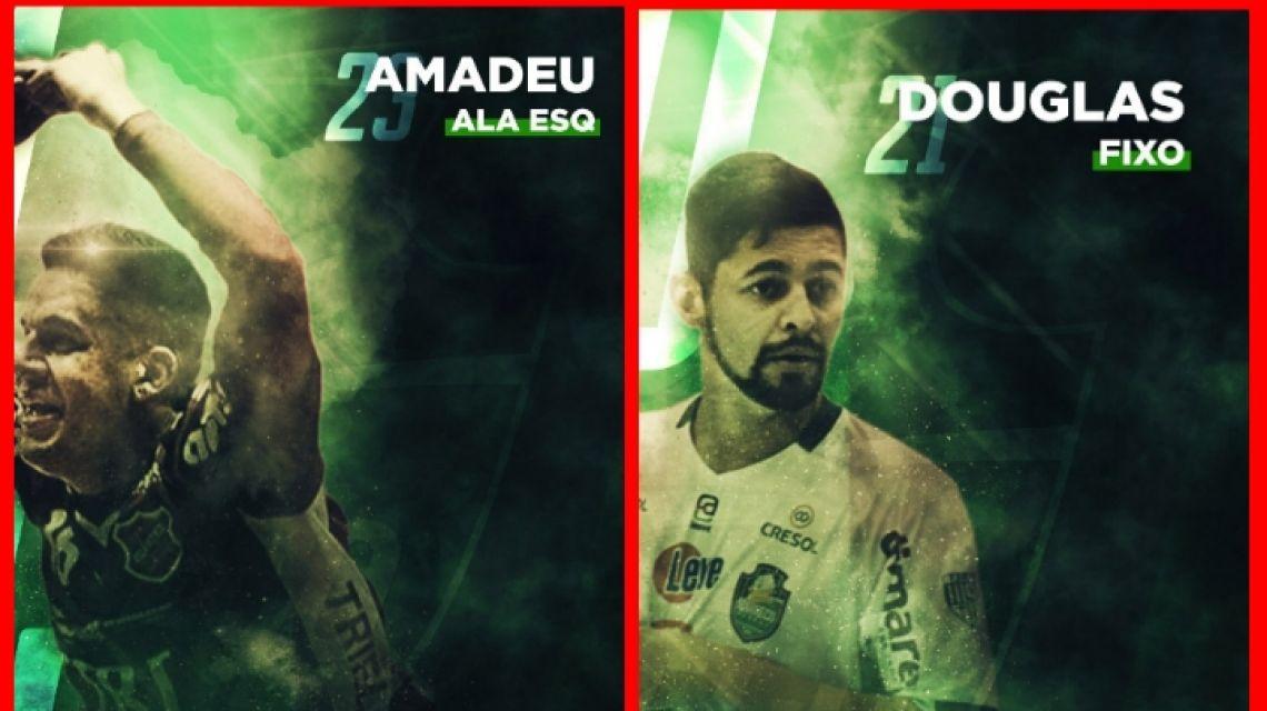 Marreco Futsal confirma a contratação de dois jogadores