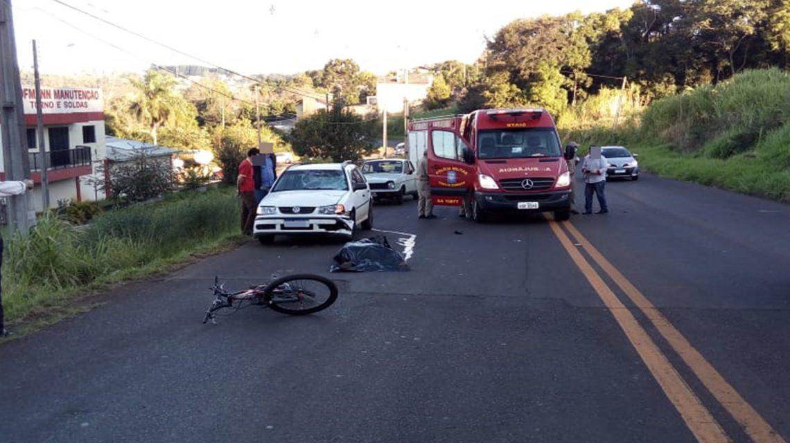 Ciclista morre vítima de acidente em Coronel Vivida